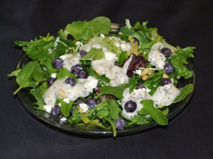 Blueberry Poppyseed Salad
