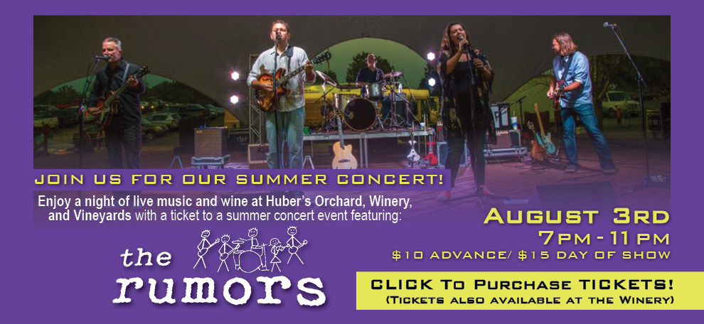 Upcoming Events & huberwinery | ORCHARD WINERY u0026 VINEYARDS